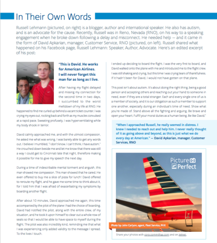 American Airlines Newsletter